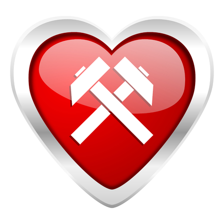 mining valentine icon photo