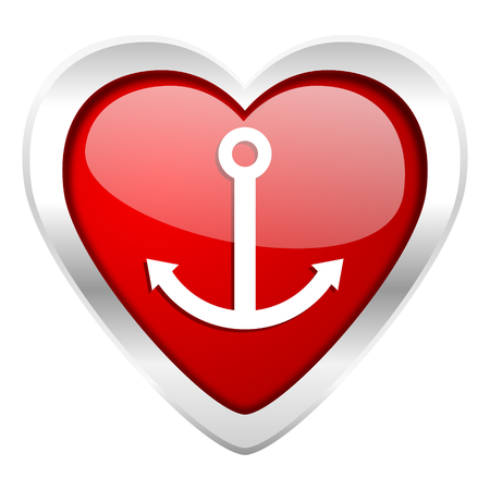 anchor valentine icon sail sign photo