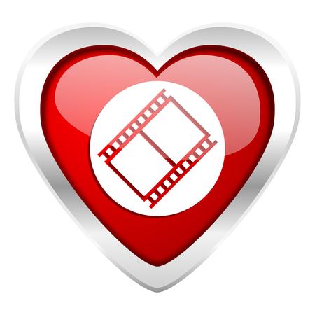 movie sign: pel�cula valent�n icono de pel�cula s�mbolo de la muestra de cine