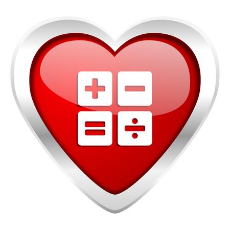 calc: calculator valentine icon calc sign