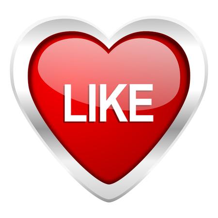 like valentine icon photo
