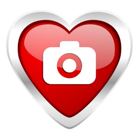 photo camera valentine icon photography sign photo