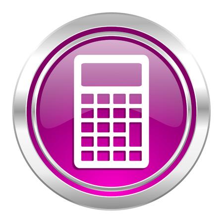 violet icon: calculator violet icon