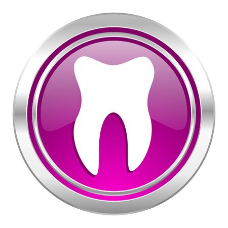 violet icon: tooth violet icon