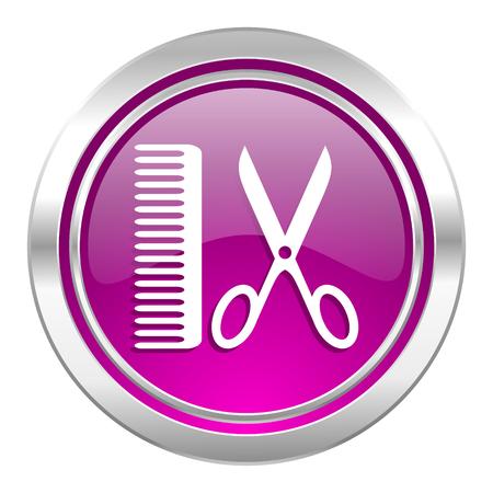 barber: barber violet icon