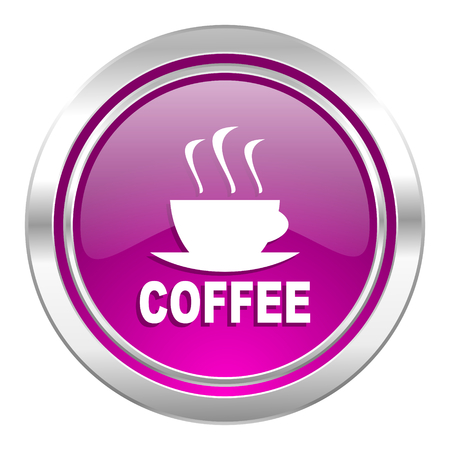 hot cup: espresso violet icon hot cup of caffee sign