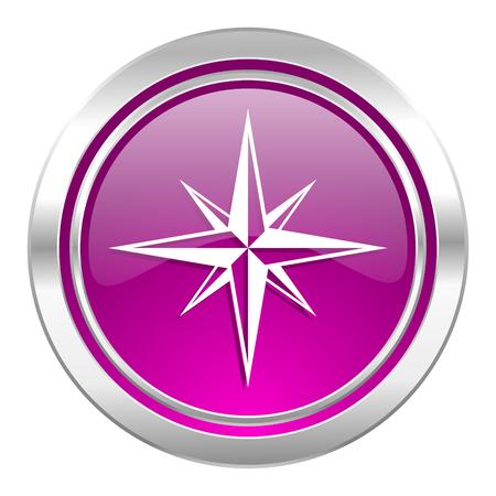 internet explorer: compass violet icon