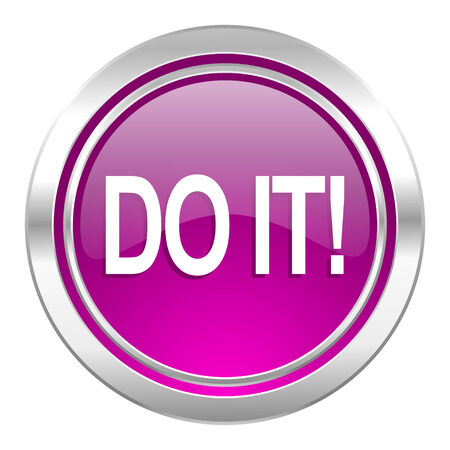 just do it: do it violet icon