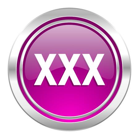 porno: xxx violetten Symbol Porno Zeichen