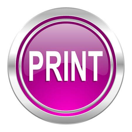 violet icon: print violet icon
