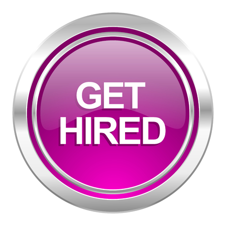 hired: get hired violet icon