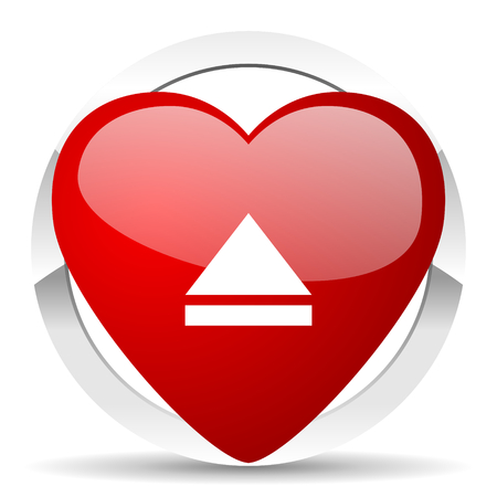eject: eject valentine icon open sign
