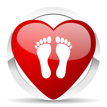 foot valentine icon