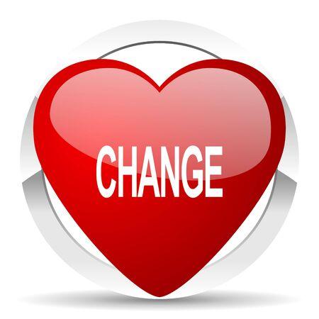 change valentine icon photo