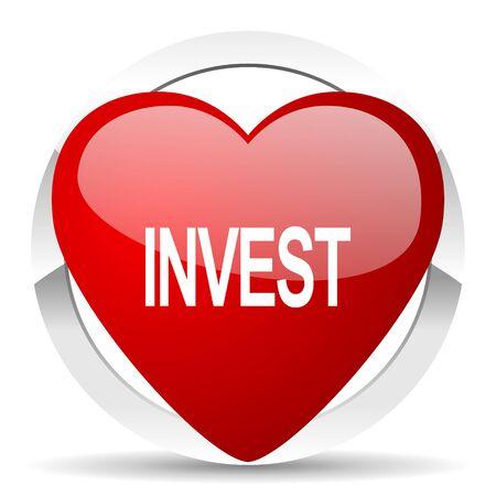 holiday profits: invest valentine icon