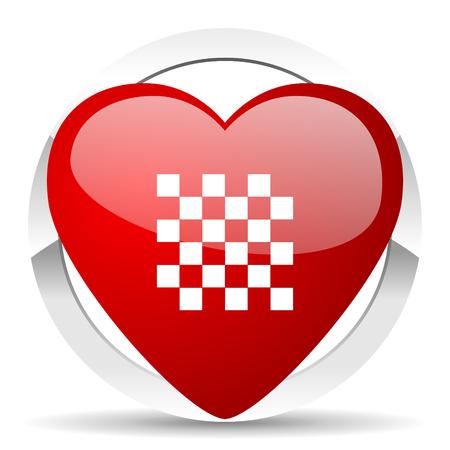 romance strategies: chess valentine icon