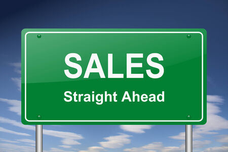 succes: sales sign