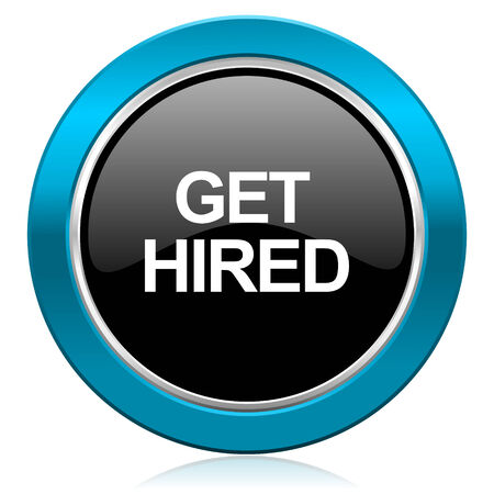 hired: get hired glossy icon