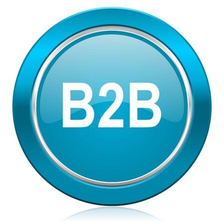 b2b: b2b icono azul