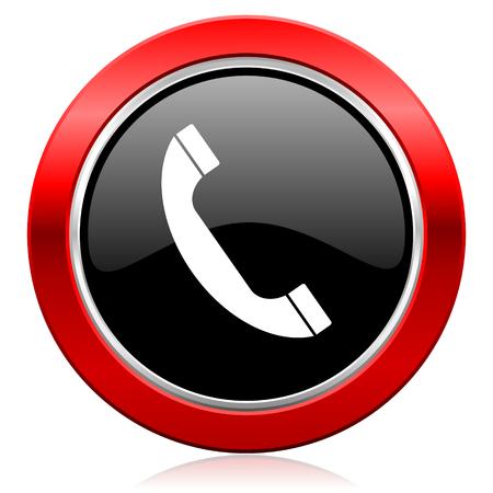 phone icon telephone sign photo
