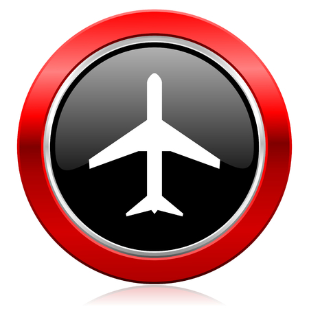 plane icon airport sign photo