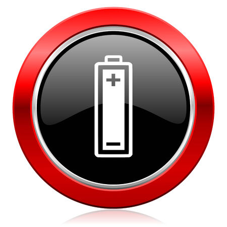 accuse: battery icon power sign