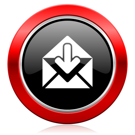 secretariat: email icon post message sign