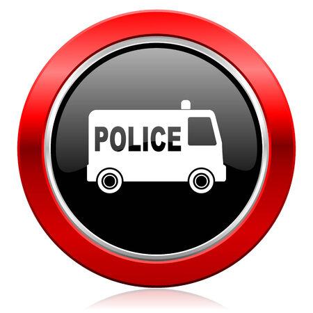 icono policia: icono de la polic�a