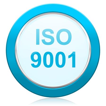 iso 9001 icon photo