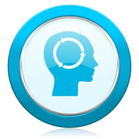 keen: head icon human head sign