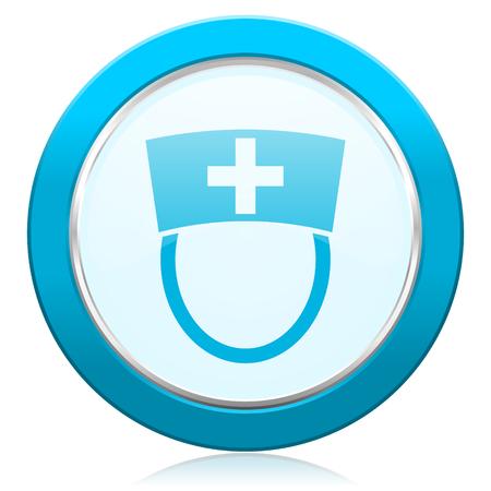 nurse icon hospital sign photo