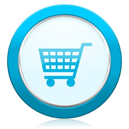 cart icon shop sign photo