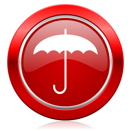 umbrella icon protection sign photo