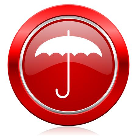 umbrella icon protection sign photo