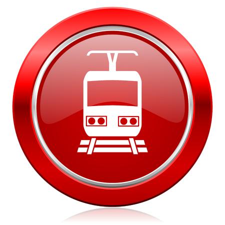 train icon public transport sign photo