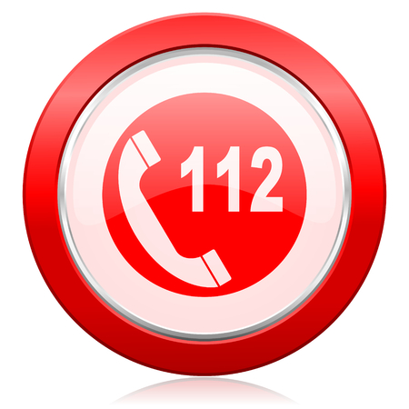 emergency call icon 112 call sign photo