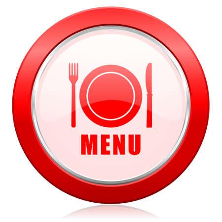 menu icon: menu icon restaurant sign Stock Photo