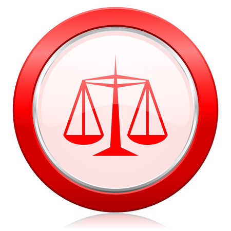 criminal act: justice icon law sign