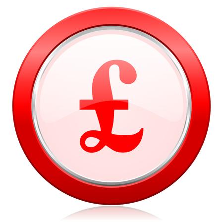 pound: pound icon Stock Photo