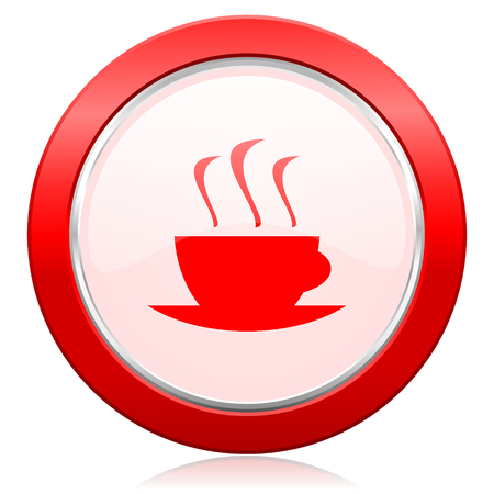 espresso icon hot cup of caffee sign photo