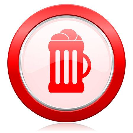 beer icon mug sign photo