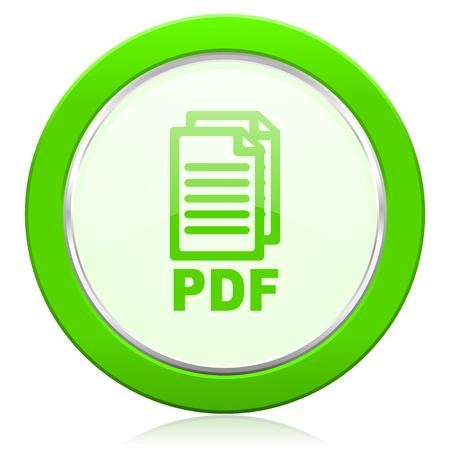 pdf: pdf icon pdf file sign
