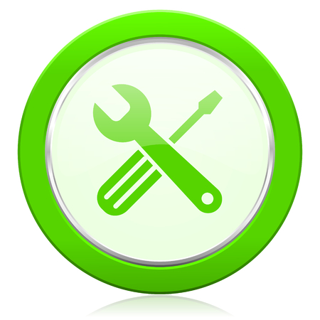 tools icon: tools icon service sign