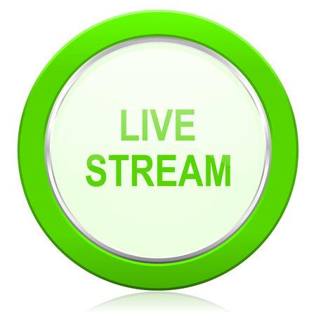 live stream icon: live stream icon