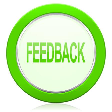 feedback icon Stock Photo