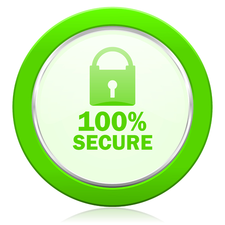 secure icon photo