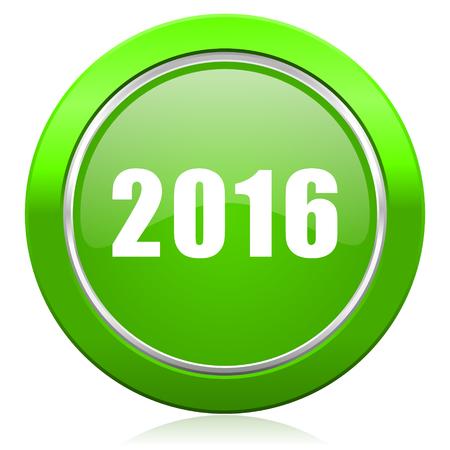 new year 2016 icon new years symbol photo