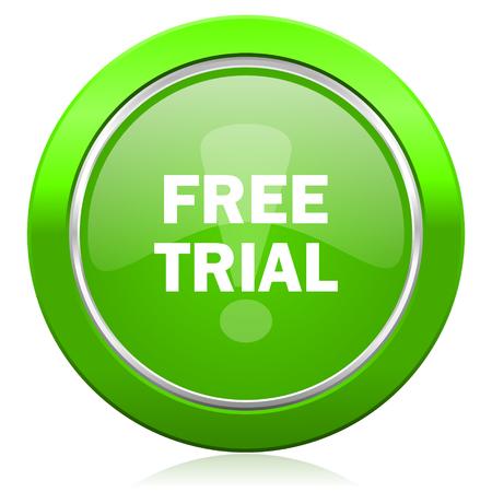 free trial icon photo