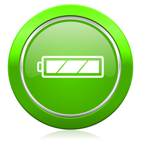 battery icon charging symbol power sign photo