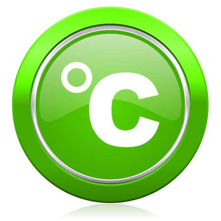 celsius: celsius icon temperature unit sign Stock Photo